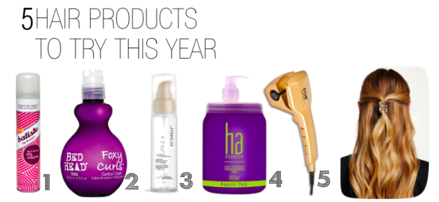 5 Hair Products To Try This Year