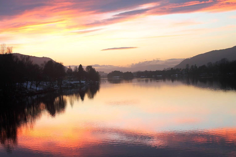 Landfalløya solnedgang 2