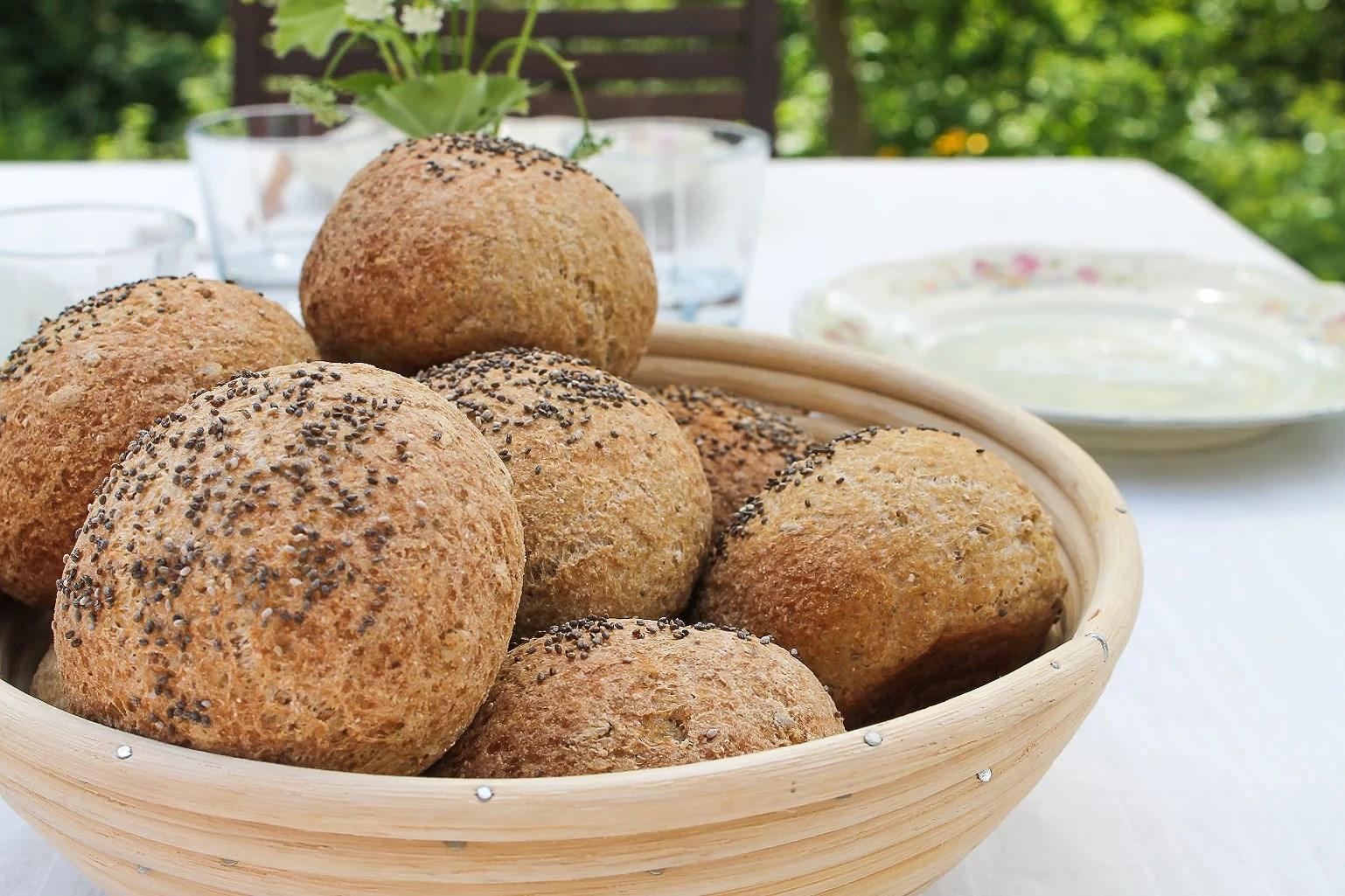 Verdens (måske) bedste glutenfri havreboller