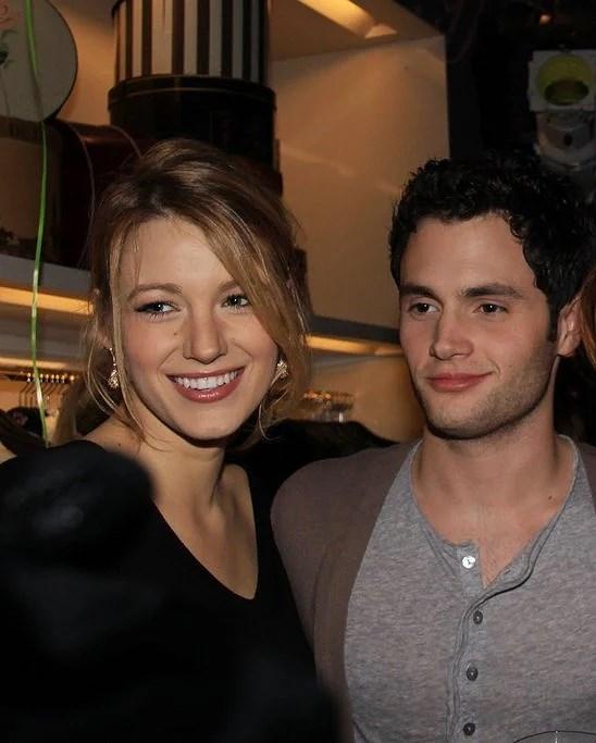 På tala om Blake Lively, hon och Penn Badgley verkade vara ett riktigt jordnära par!