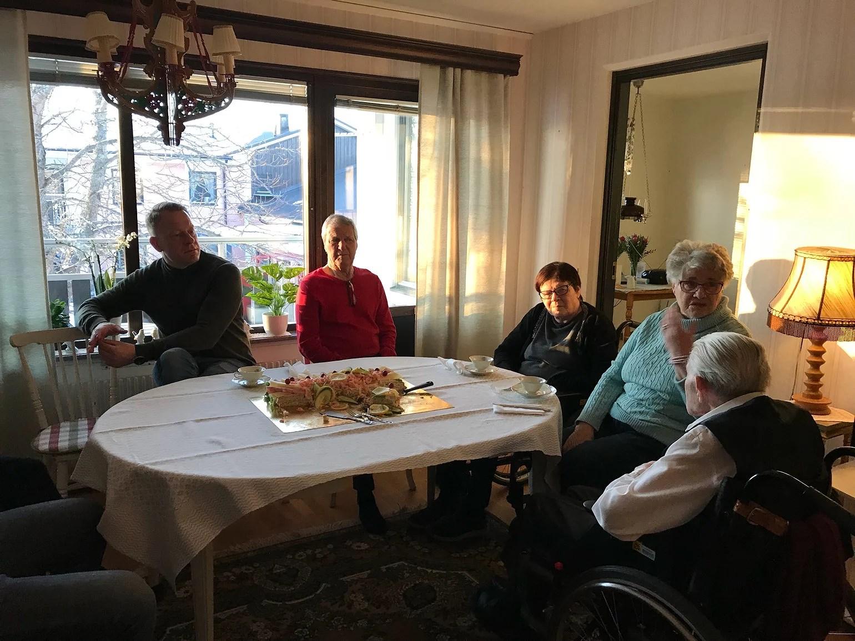 101-årsdag på Kanalgården i Berg