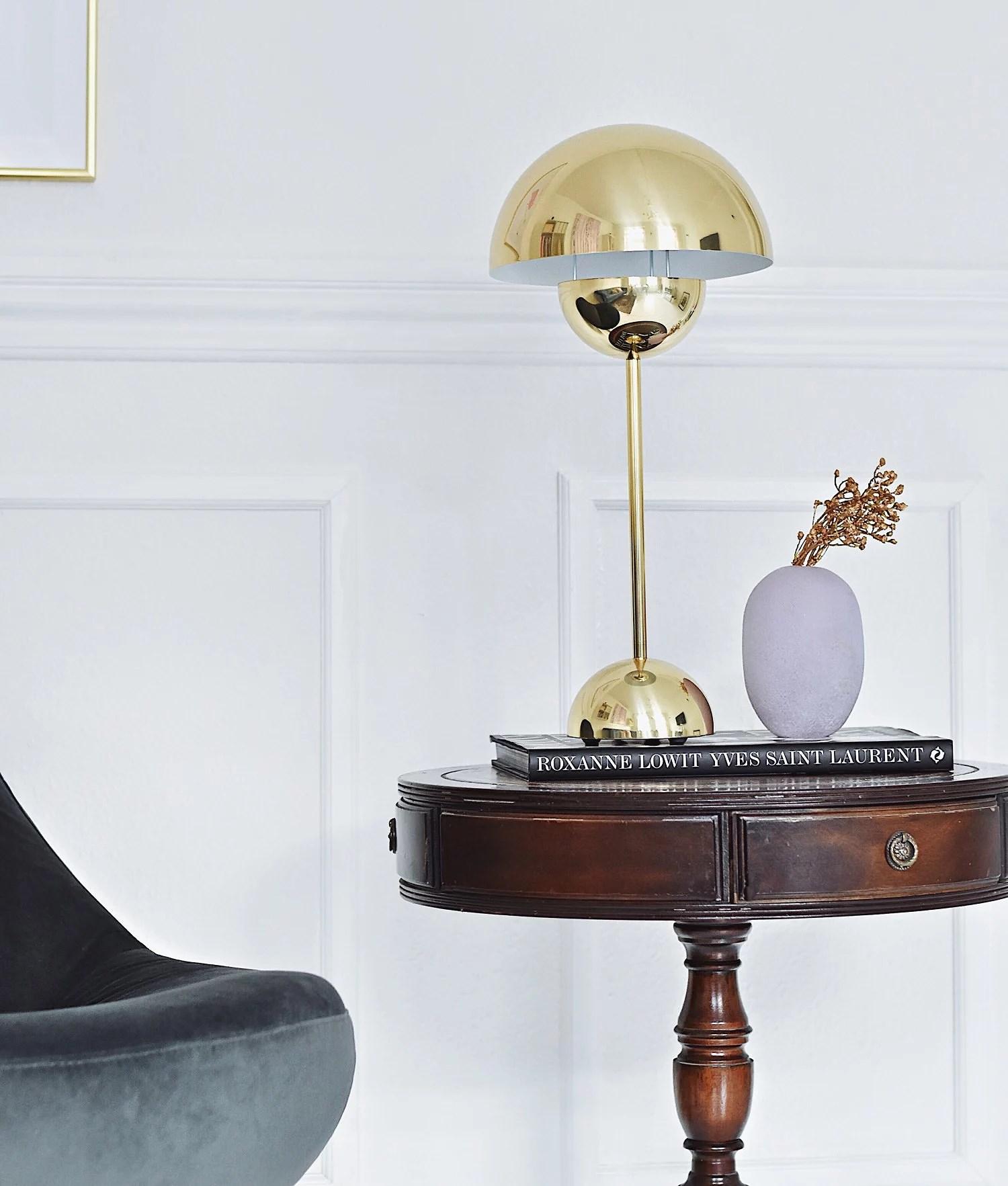 verner-panton-guldlampe
