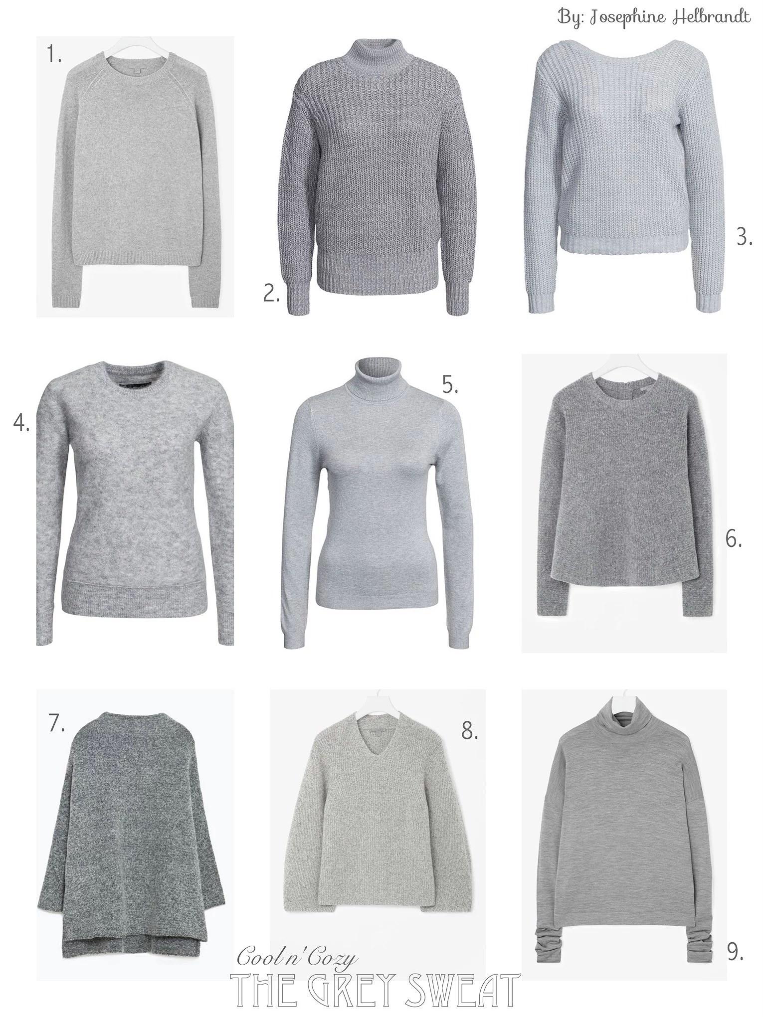 Fashion Inspiration // The Grey Sweat