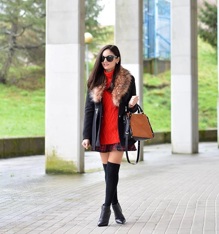 Zara_ootd_outfit_botines_tartan_choies_mango_abrigo_02