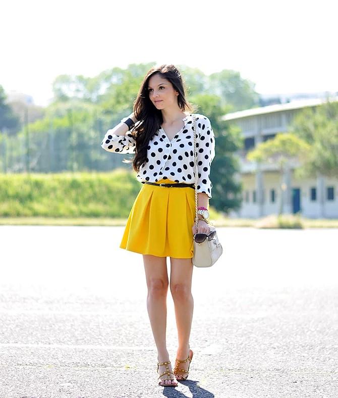 ...Yellow & Dots...