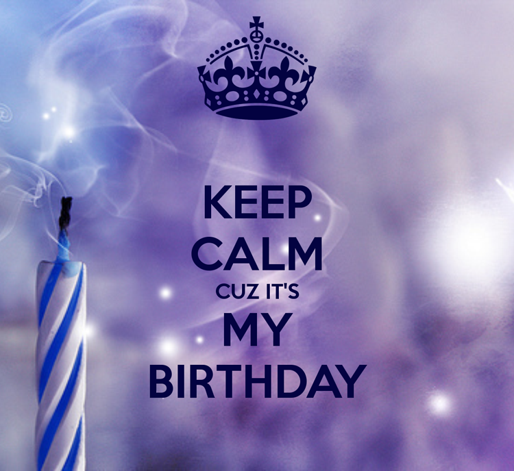 ... It's my Birthday! 35 cosas sobre mi...