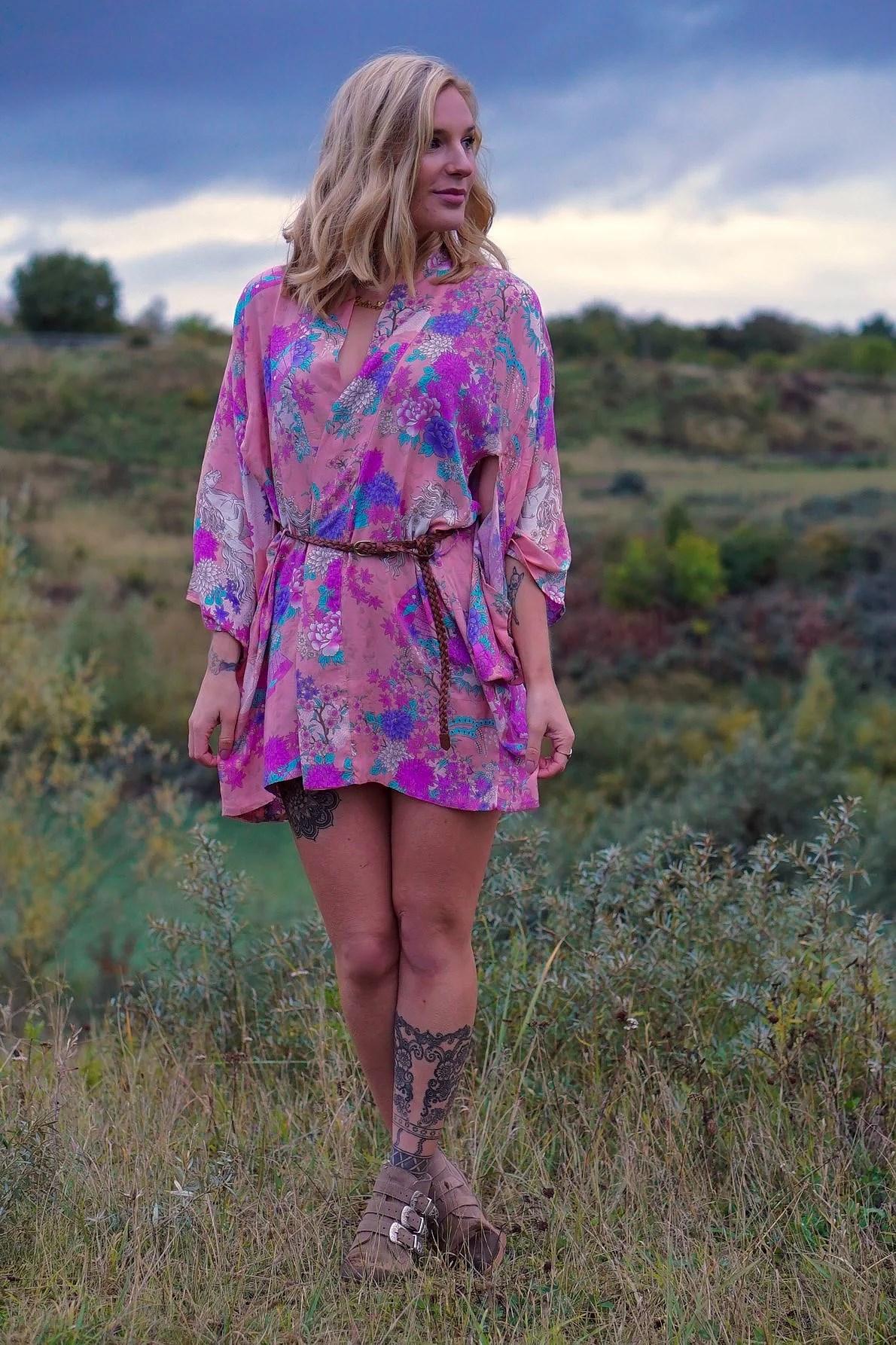 Wild Horse Kimono - Dress