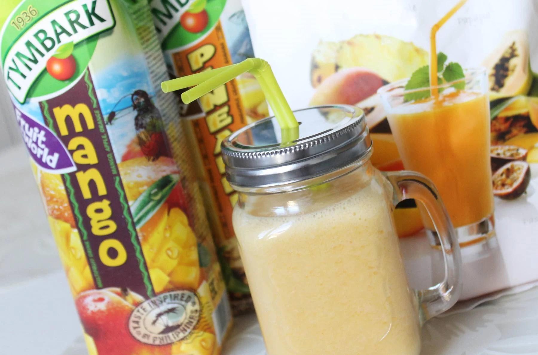 Mango/Pineapple smoothie