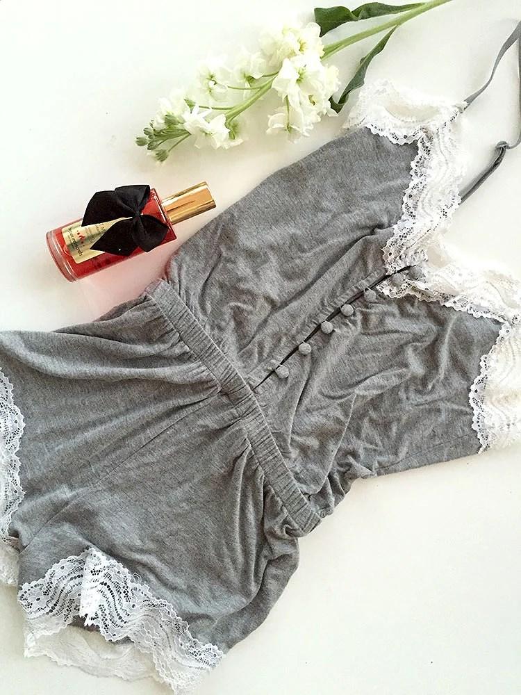 pijama encaje