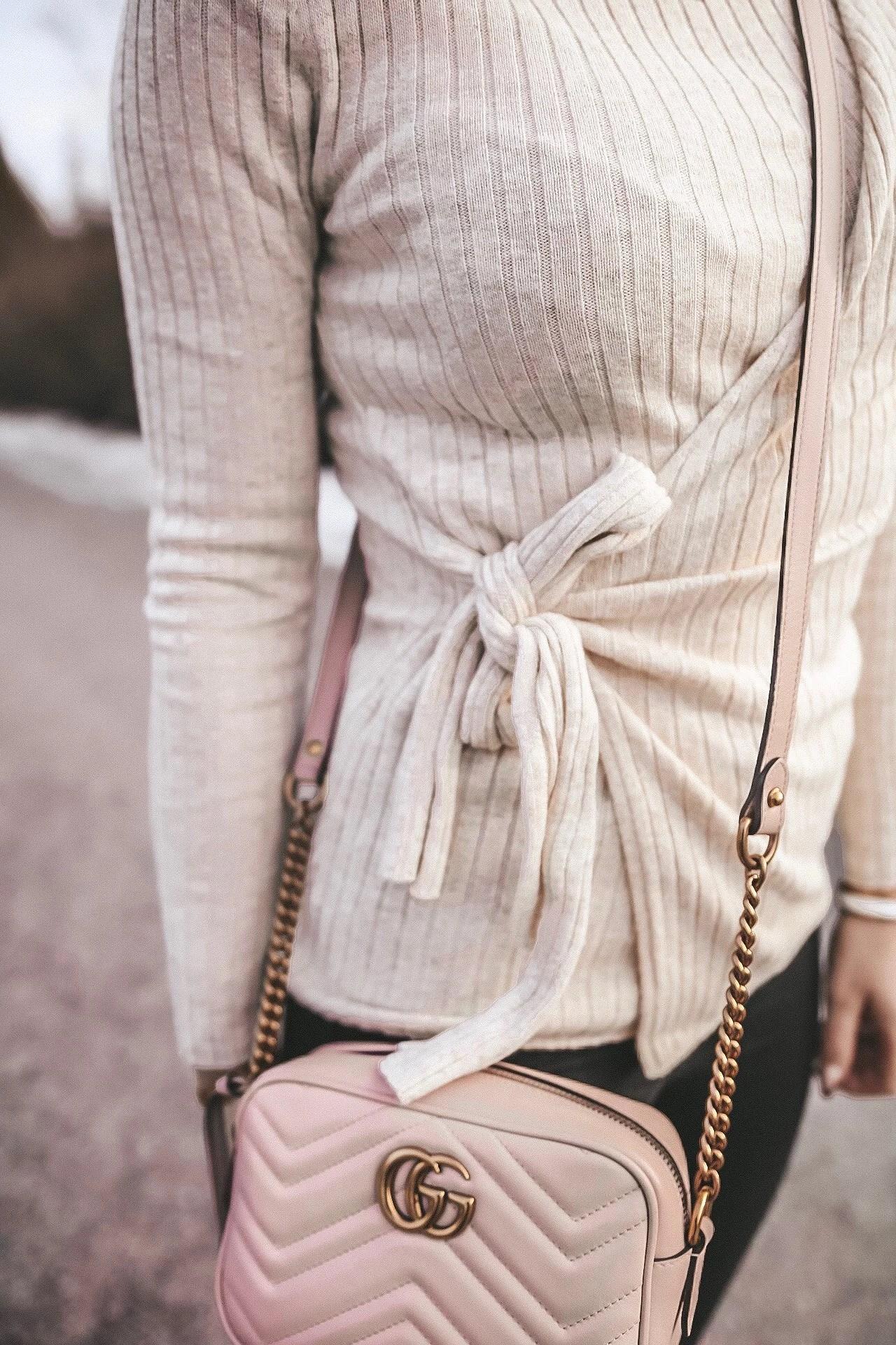 Creamy white knit