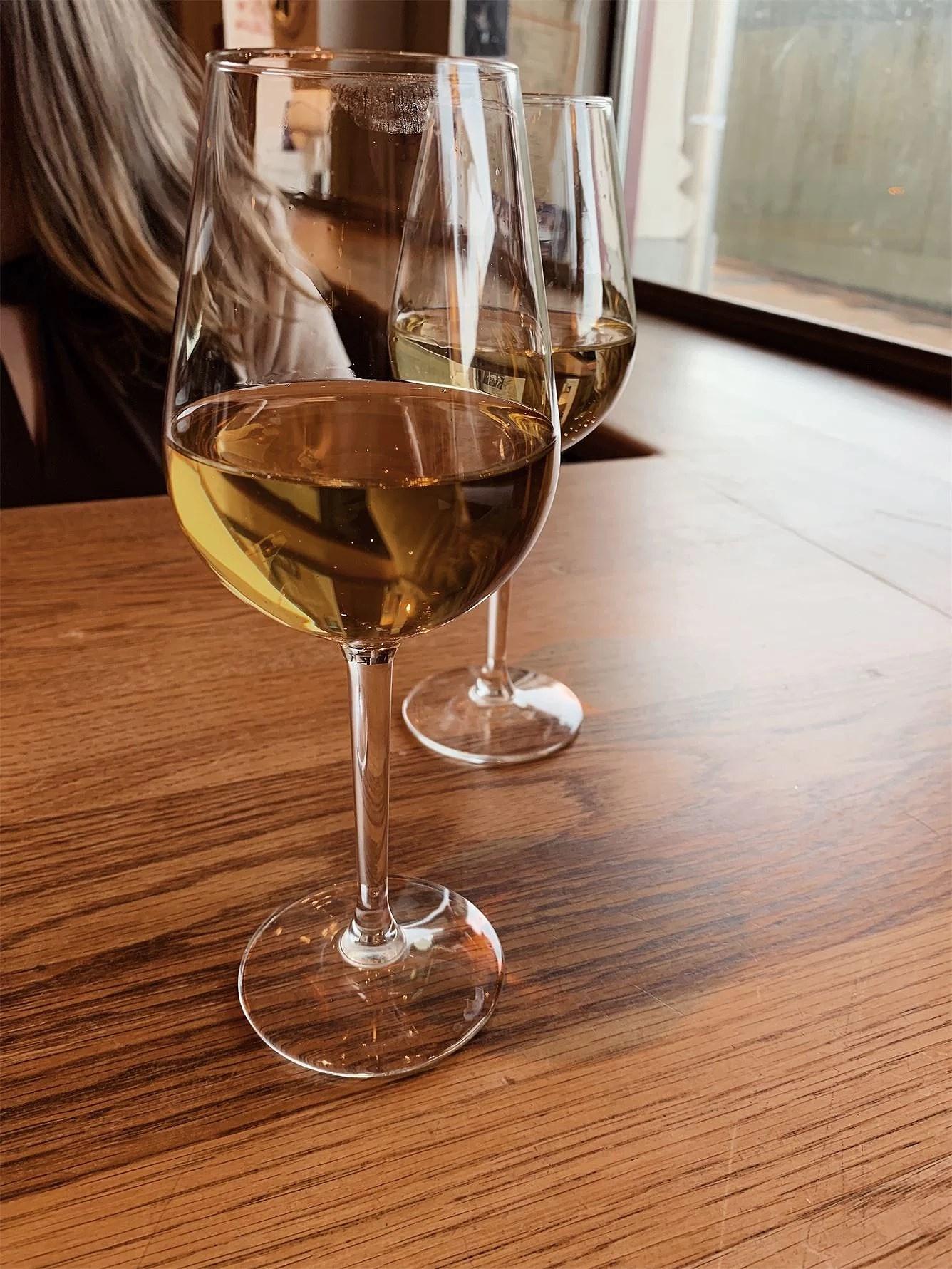 Första glaset vin på 6 månader