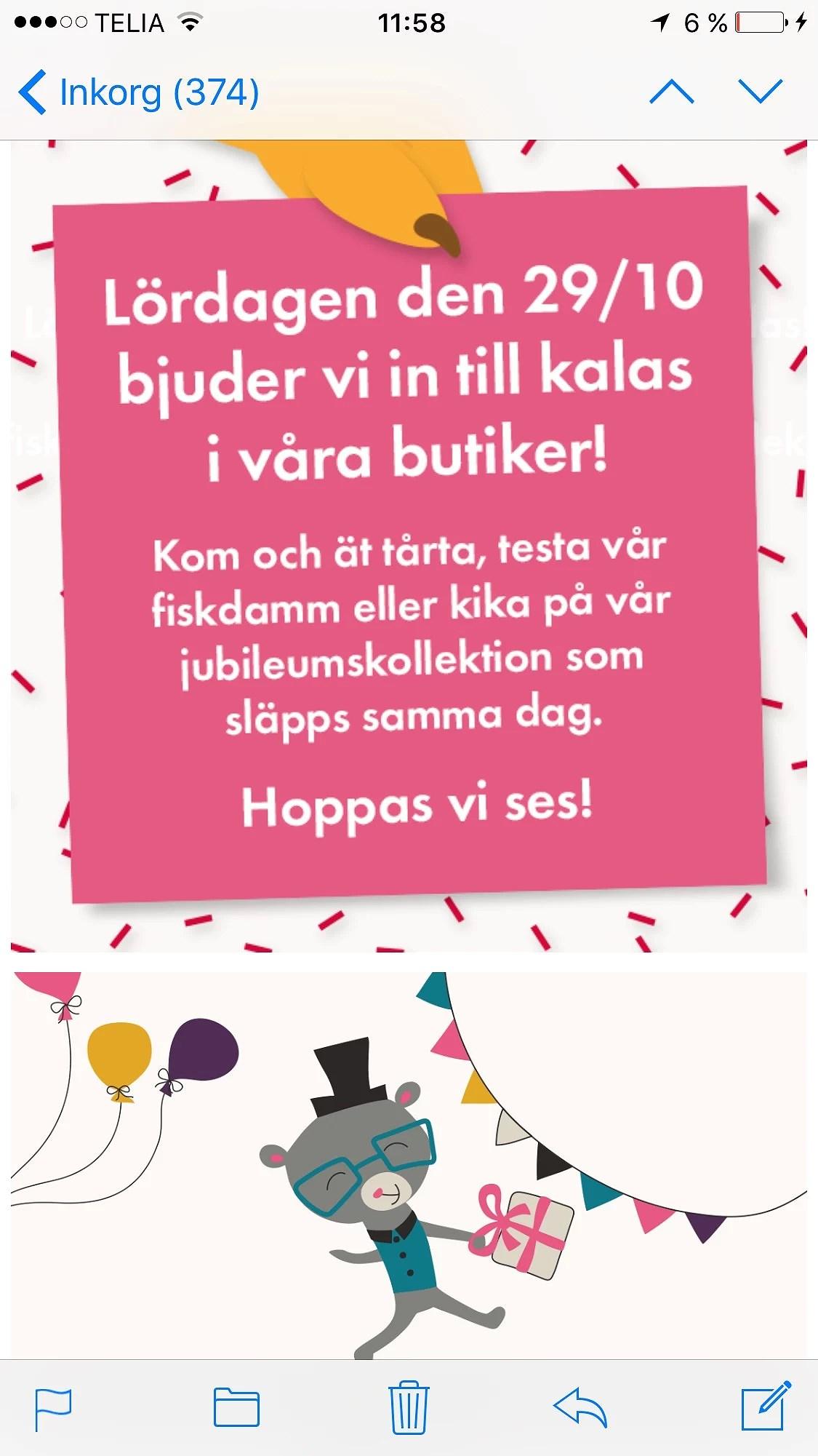 Fest hos PO'P 29/10