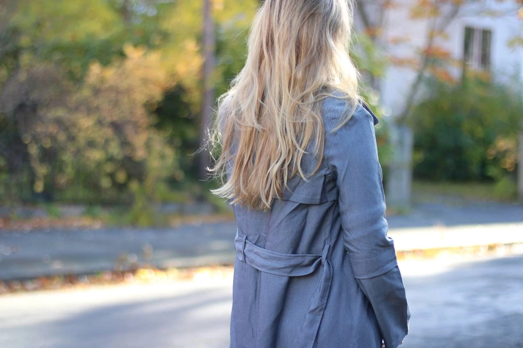in my new coat