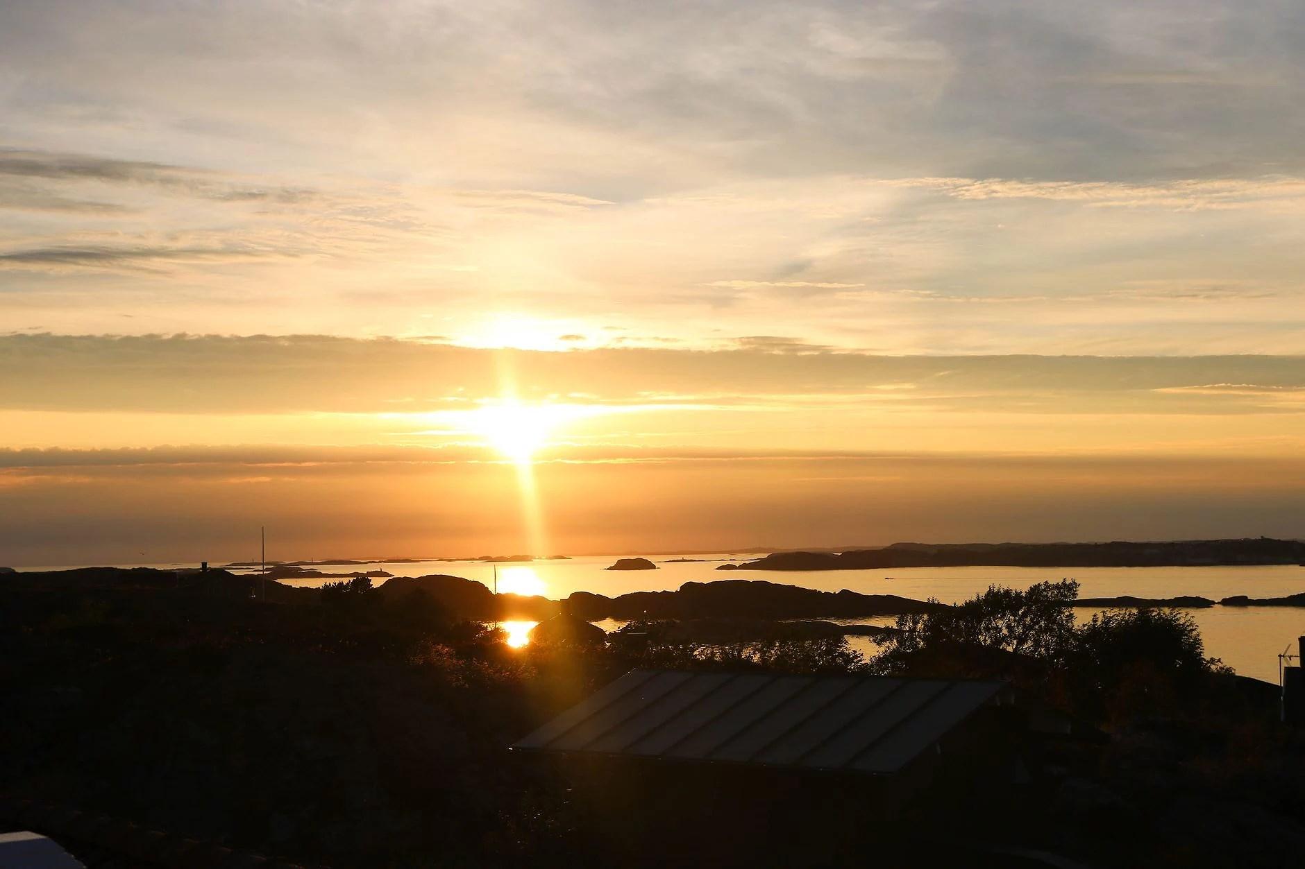 last night's magical sunset