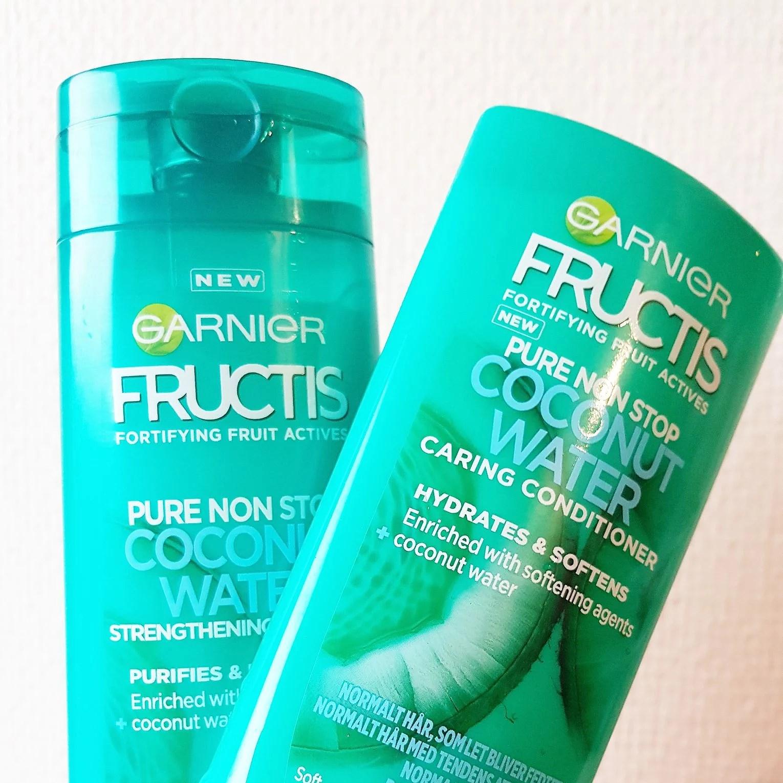 fructis garnier - coconut water