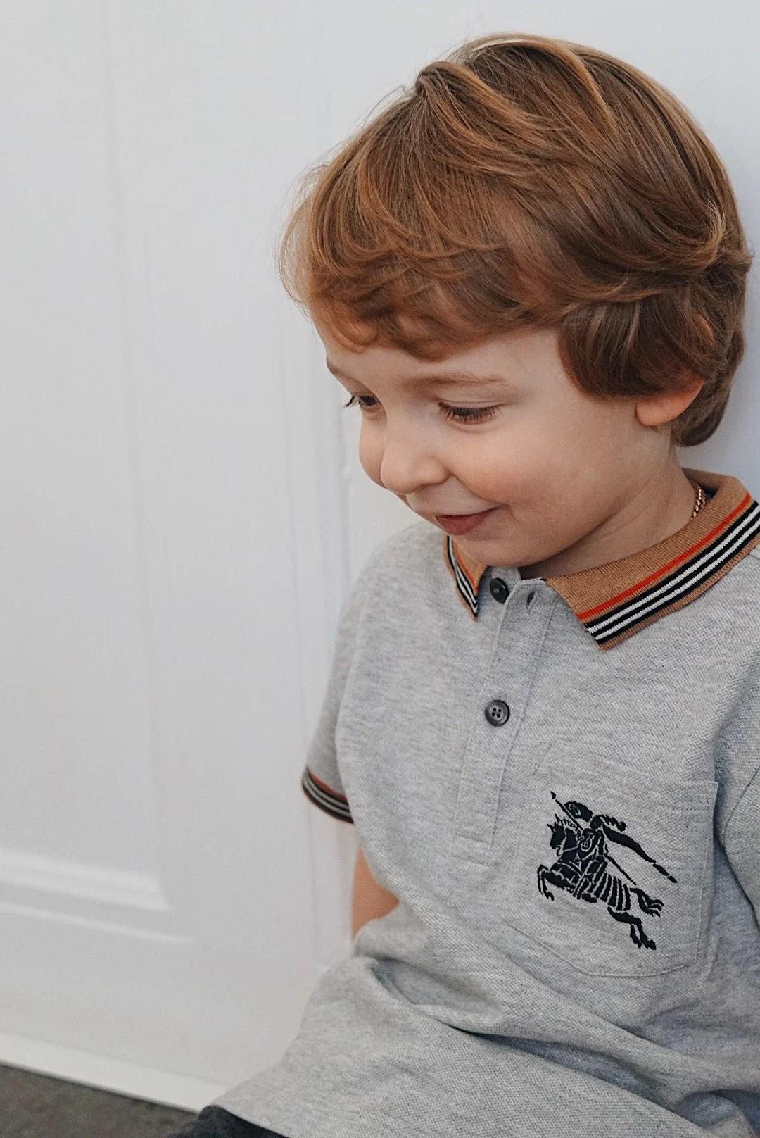 Espen börjar förskolan