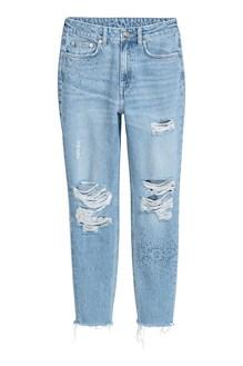 Mom jeans trashed