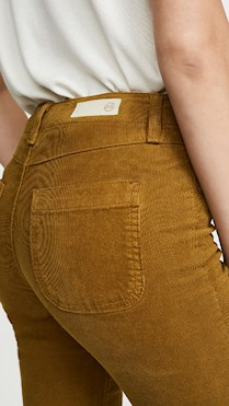 mustard pants cordoroy