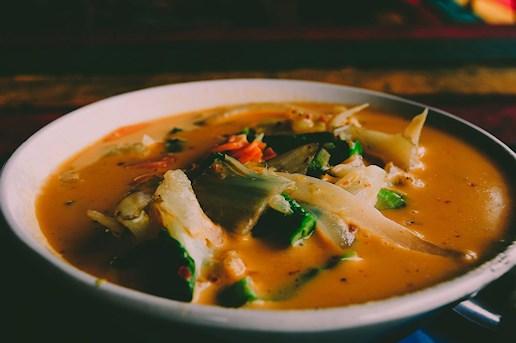 Koh Chang, thailand, Rasta View, massaman curry