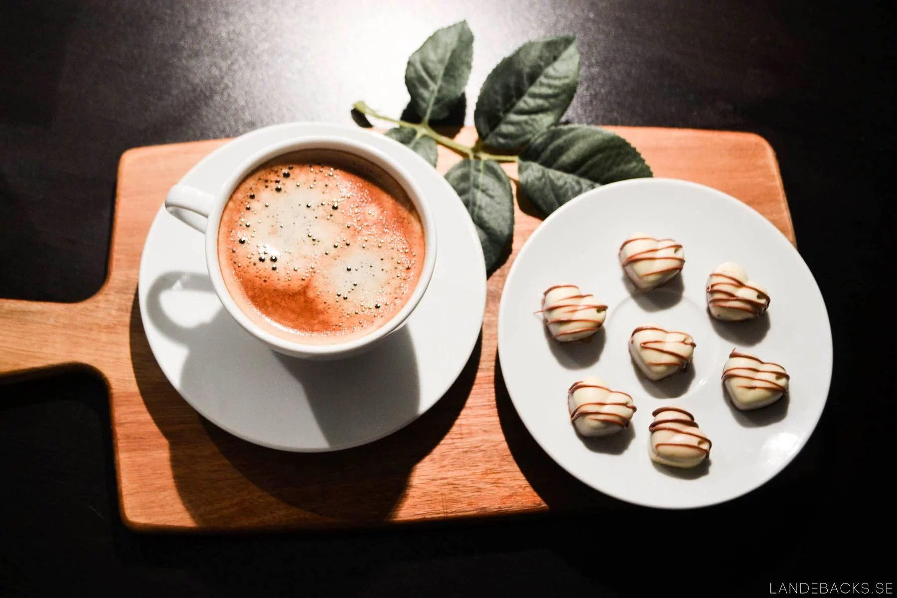 Coffee + chocolate pralines