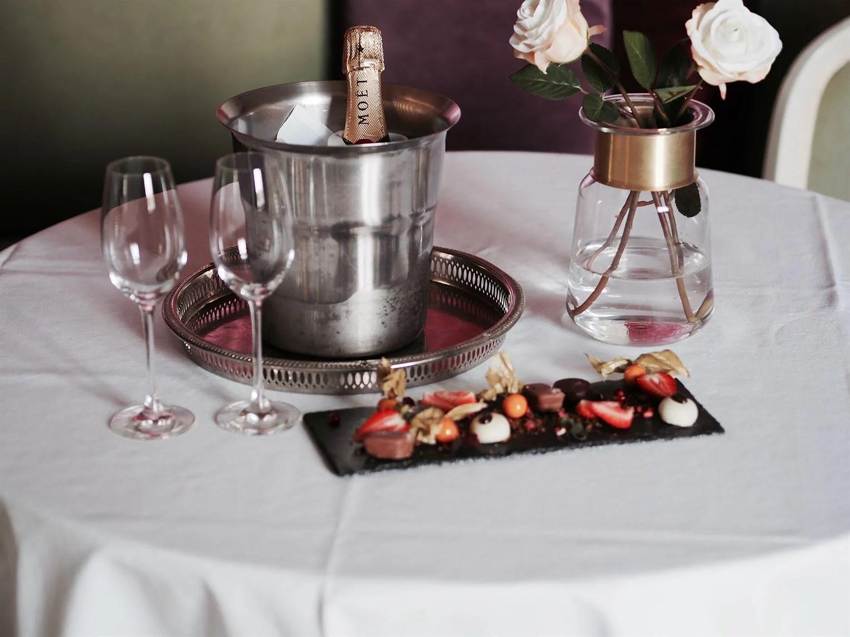 Moet champagne Hotel Bjertorp