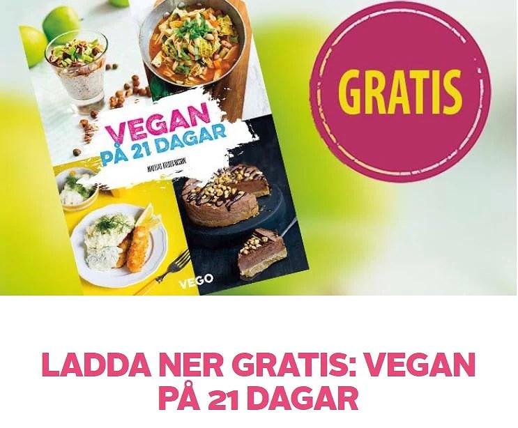 Inspireras av veganskt