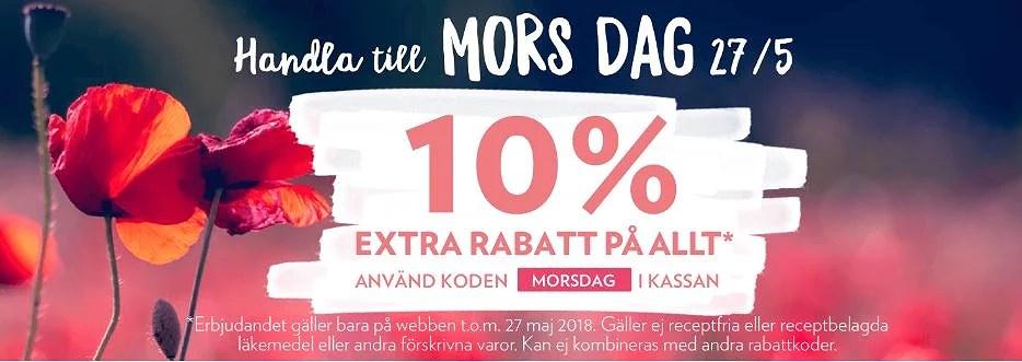 10% rabatt hos Kronans Apotek med rabattkod