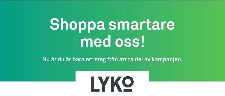 10% rabatt hos Lyko + höjd återbäring