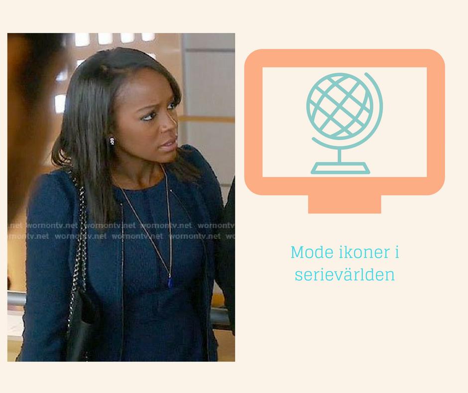 Mode ikoner i Serievärlden - Michaela Pratt