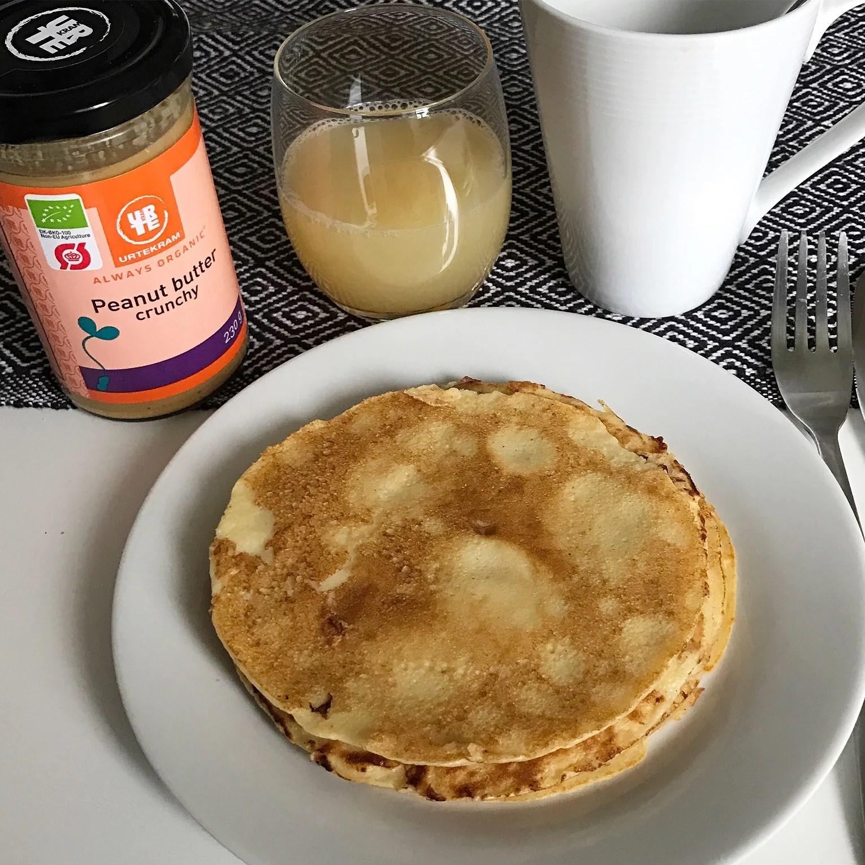 Dagens frukost: Glutenfria Pannkakor (Recept)