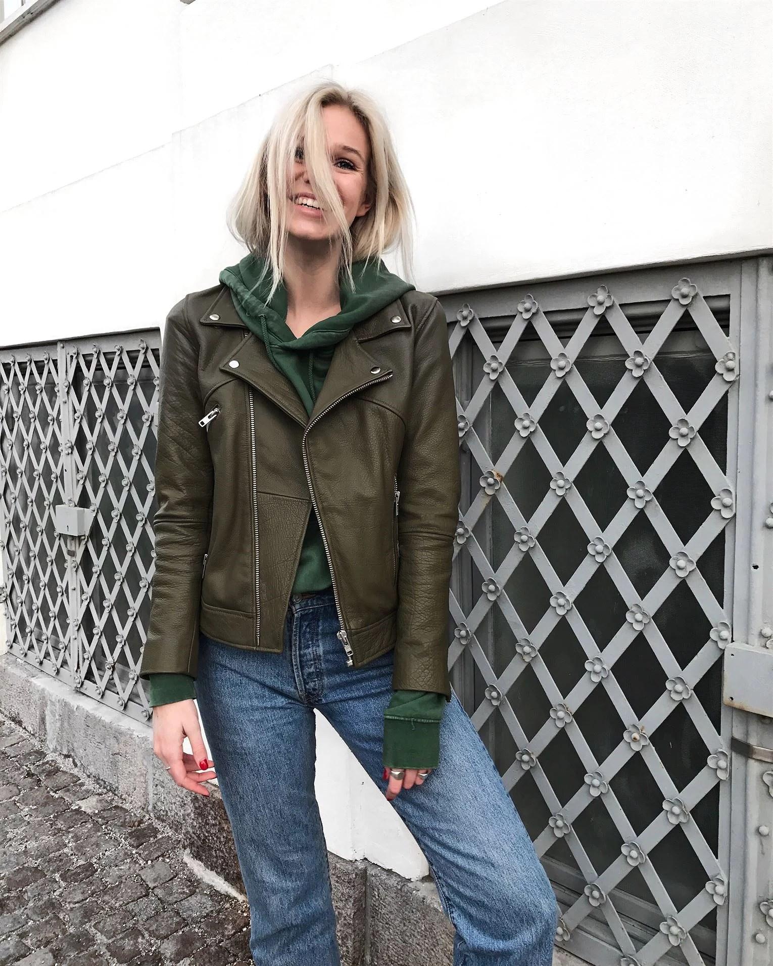 Grøn læder