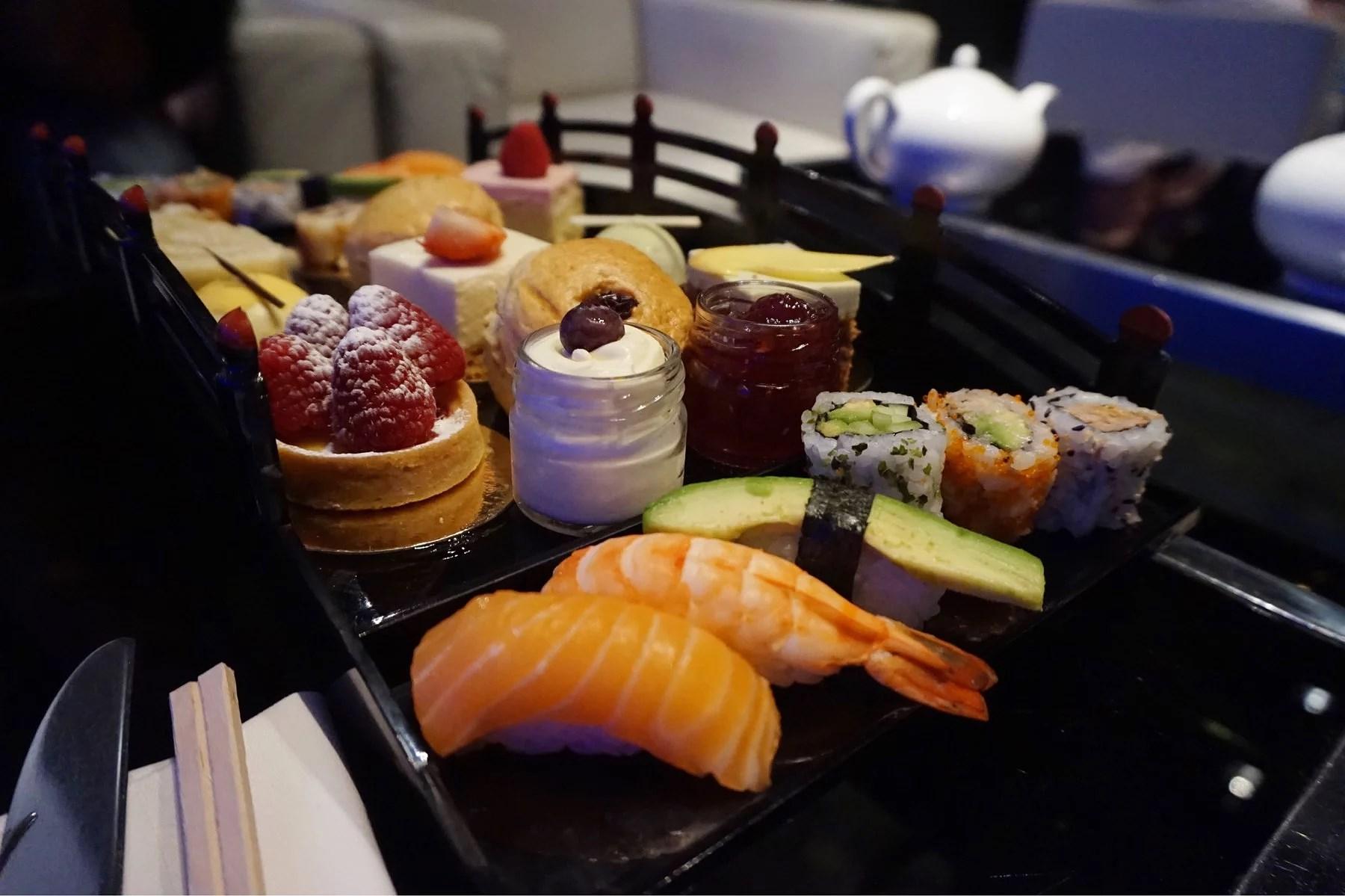 Afternoon tea at Ichi Sushi & Sashimi