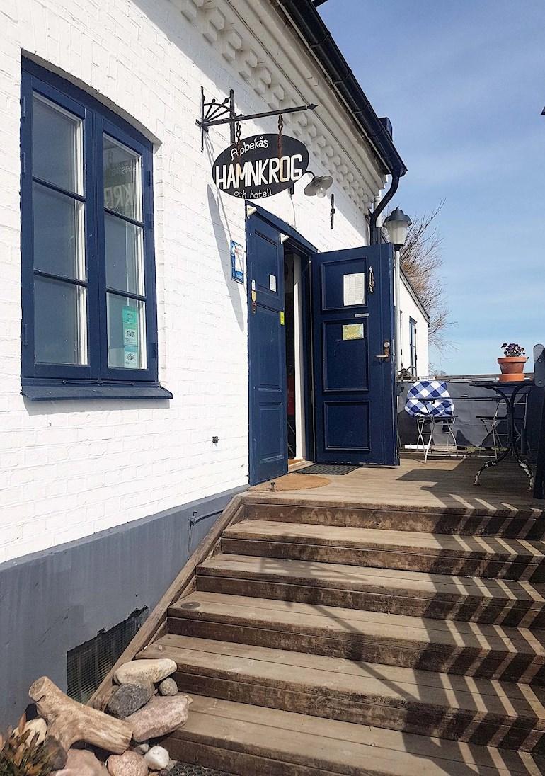 Abbekås hamnkrog och hotell, Skåne