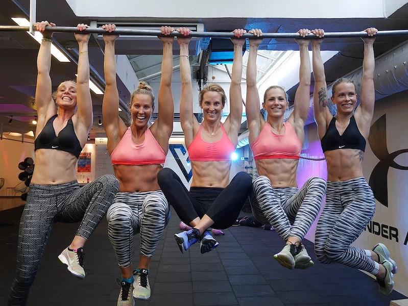 Nike training team