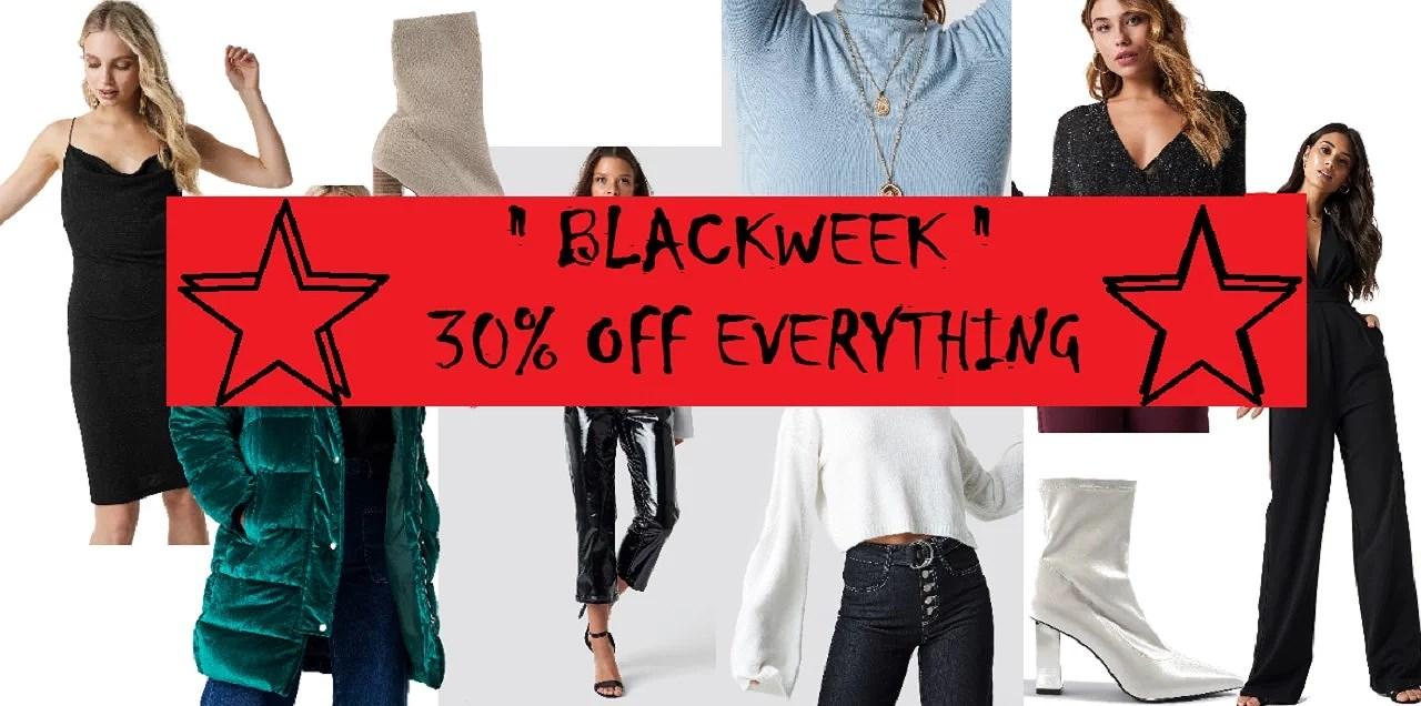 BLACKWEEKEND - 30% RABATT PÅ ALLT!!!