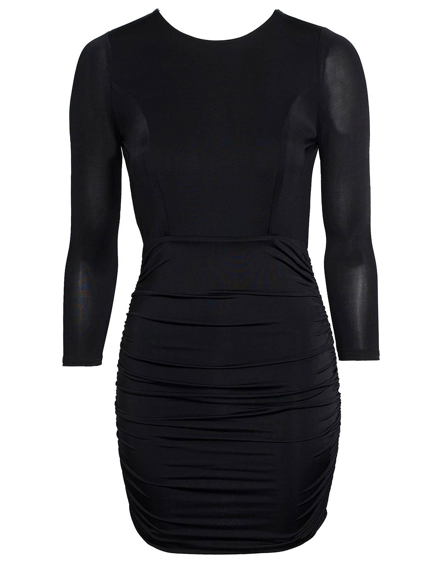 NEW YEAR DRESS, BLACK