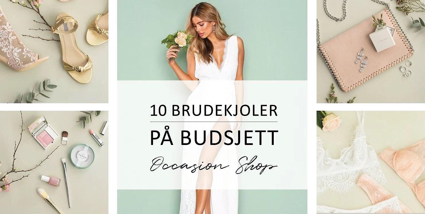 10 brudekjoler på budsjett!