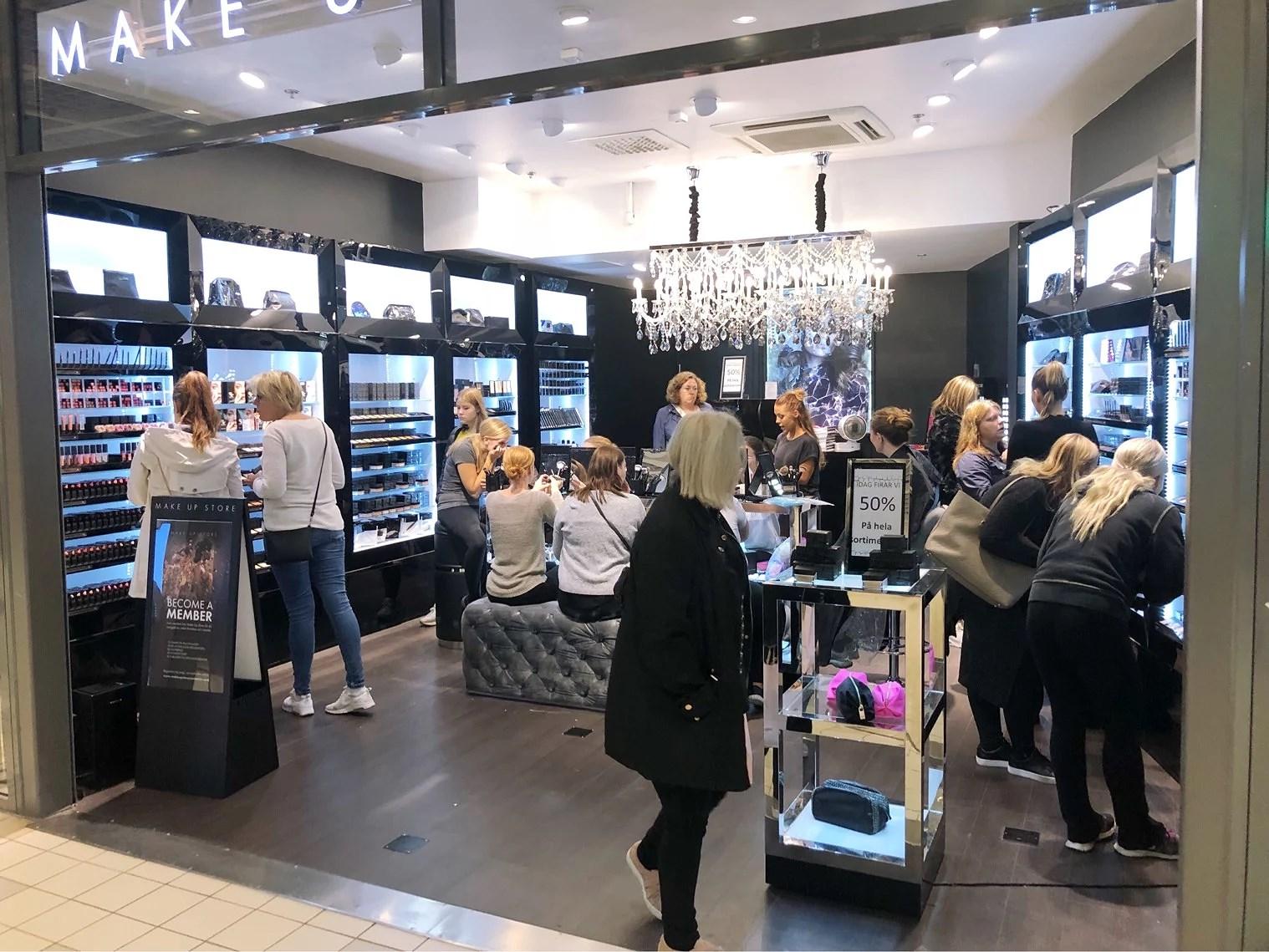 50% på Make Up Store