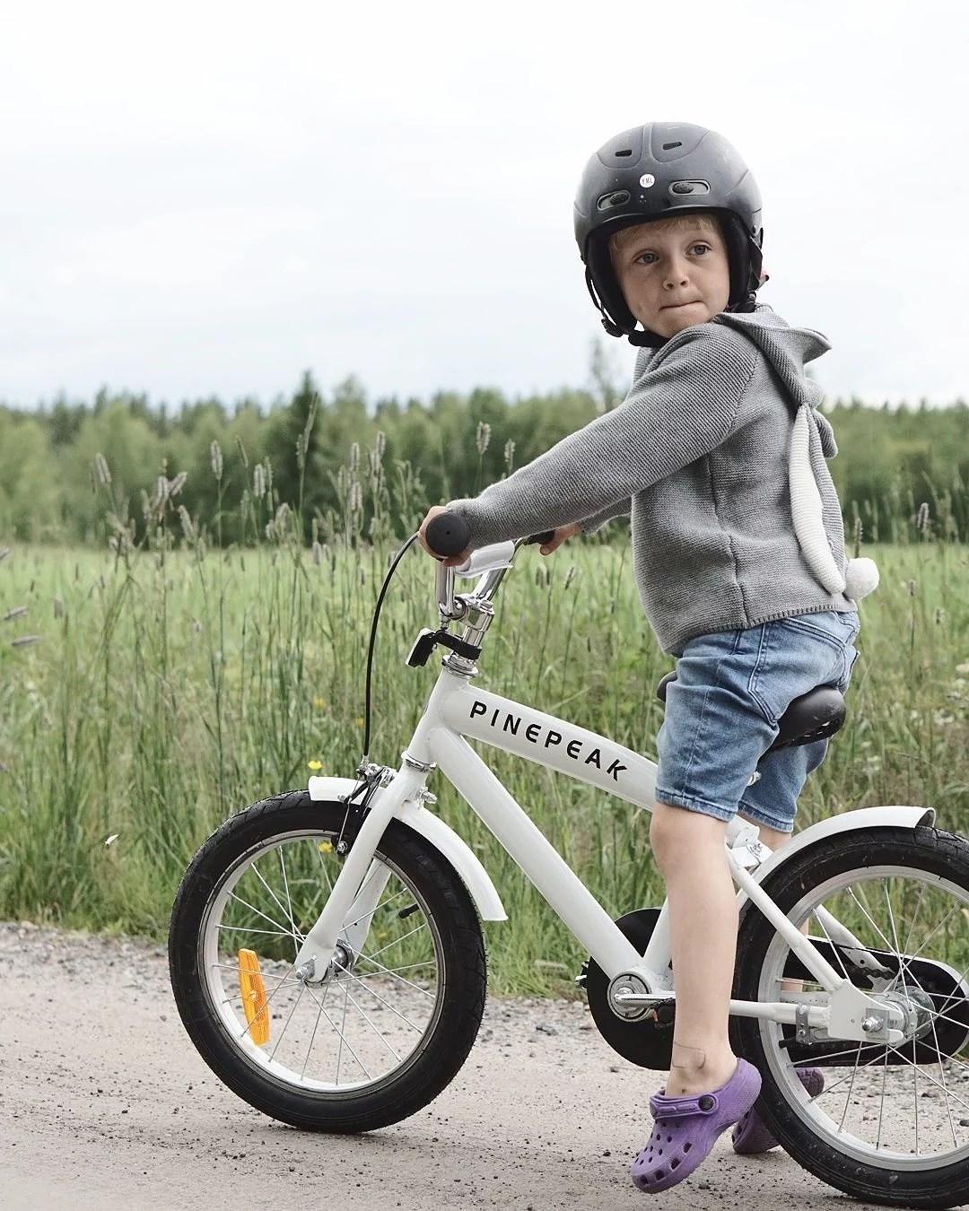 Att få en ny cykel!