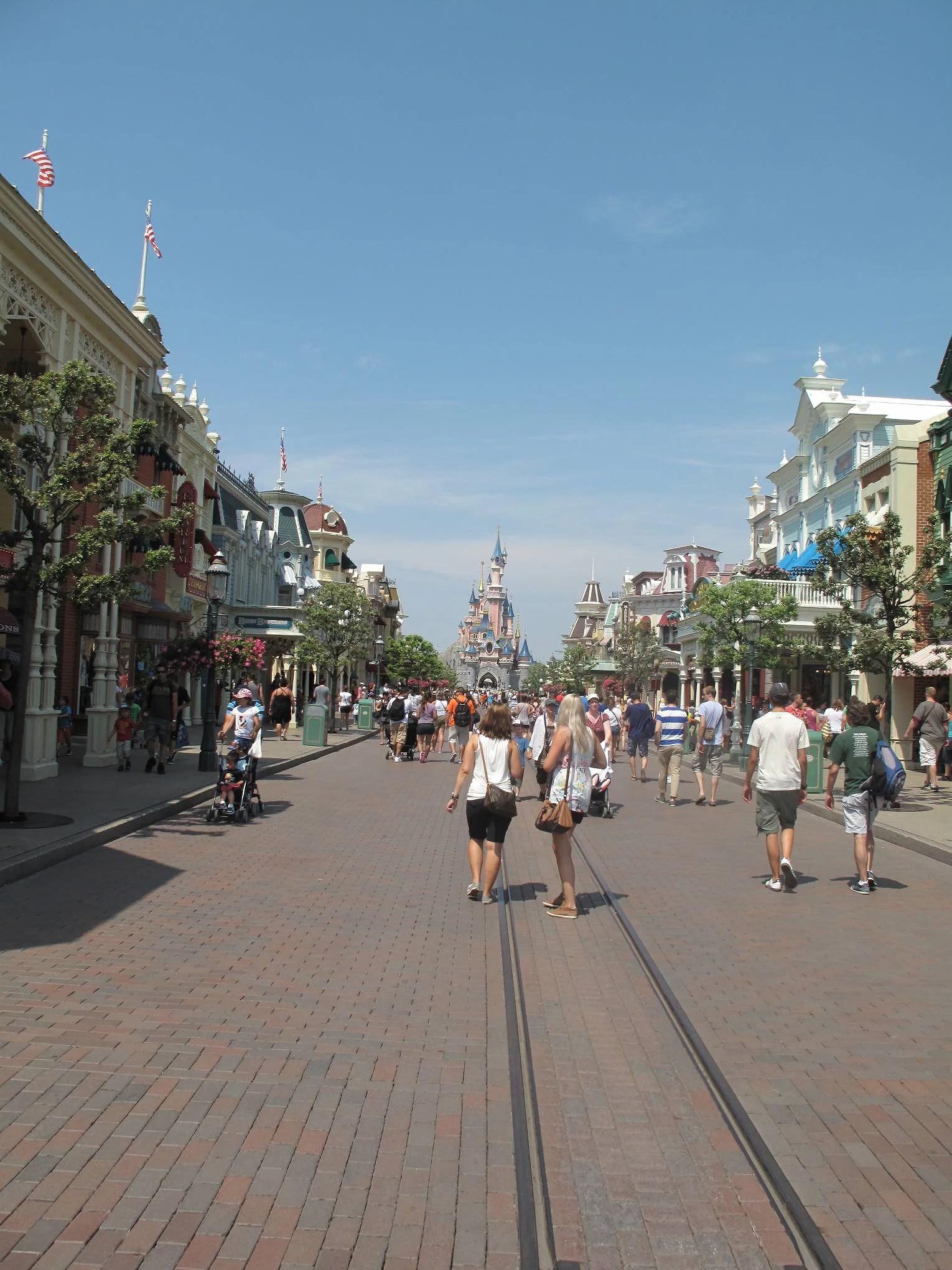 Disneyland Park del 1: Main Street U.S.A. - Disneyland Paris