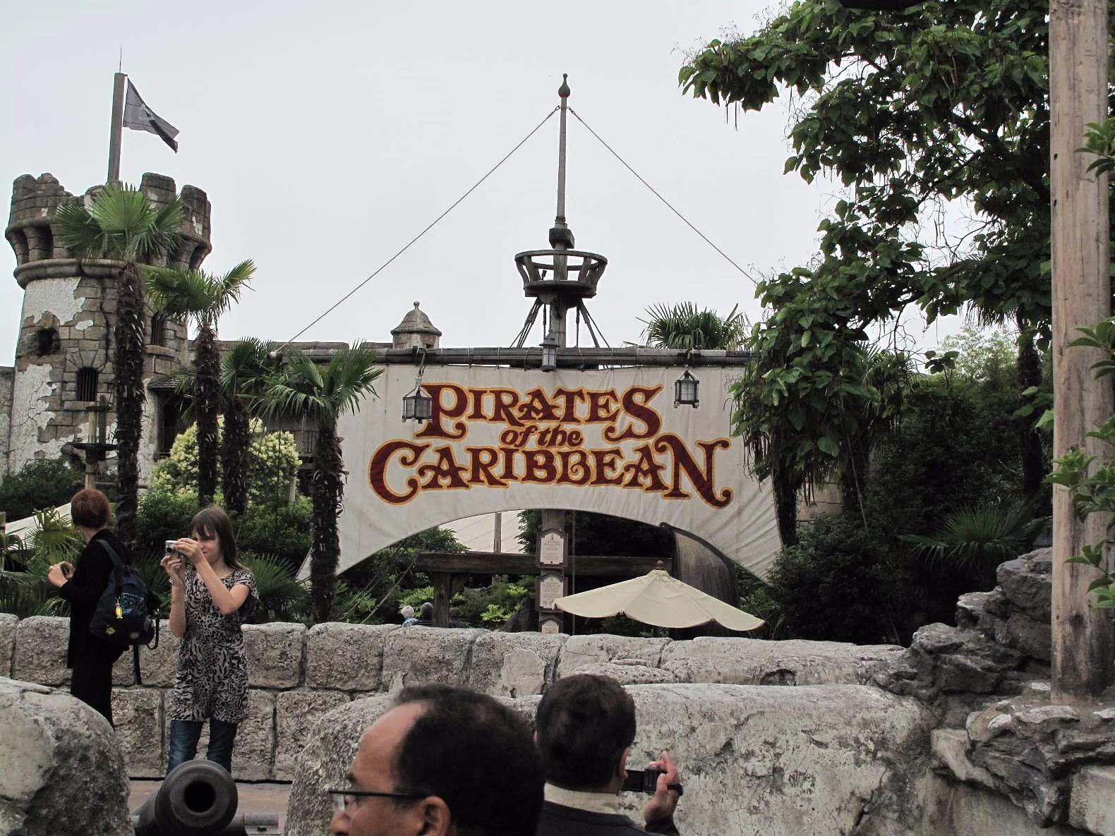 Pirates of the Carribean attraktionen nyöppnar på Disneyland Paris