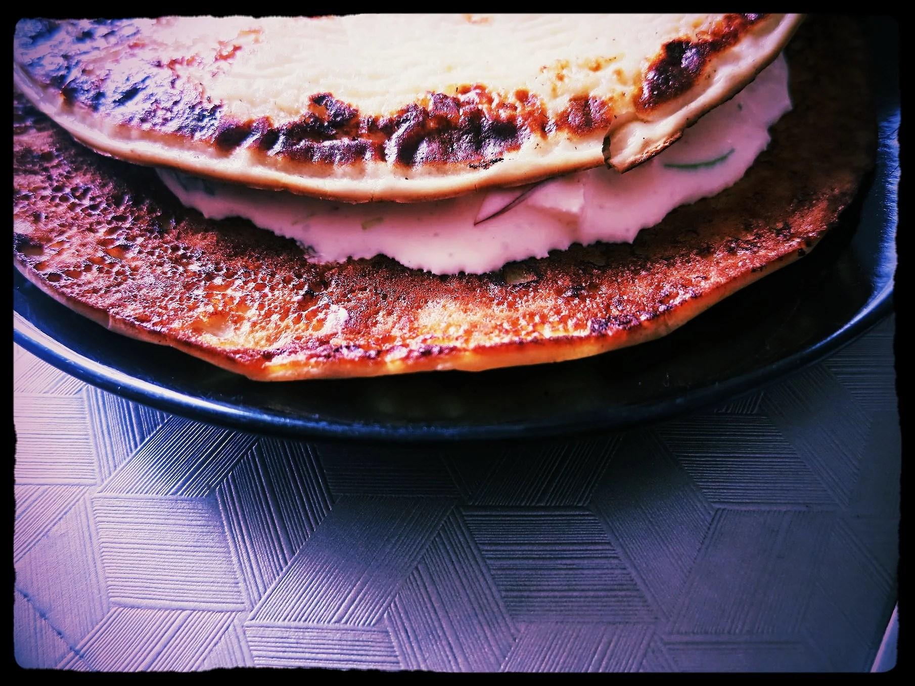 Skinkröra till pannkakor