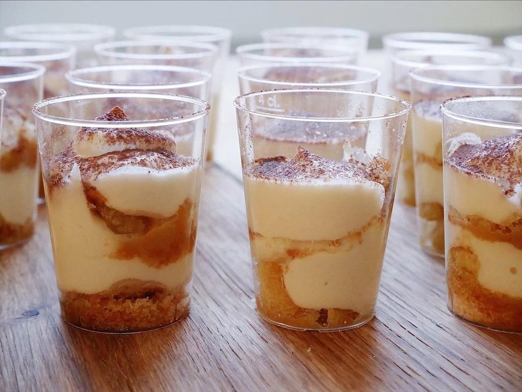Glutenfria mini-tiramisu