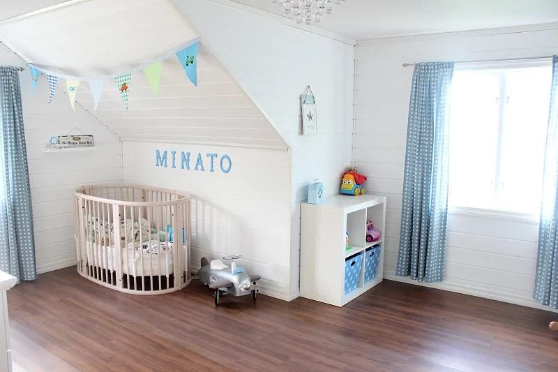 Interiør barnerom