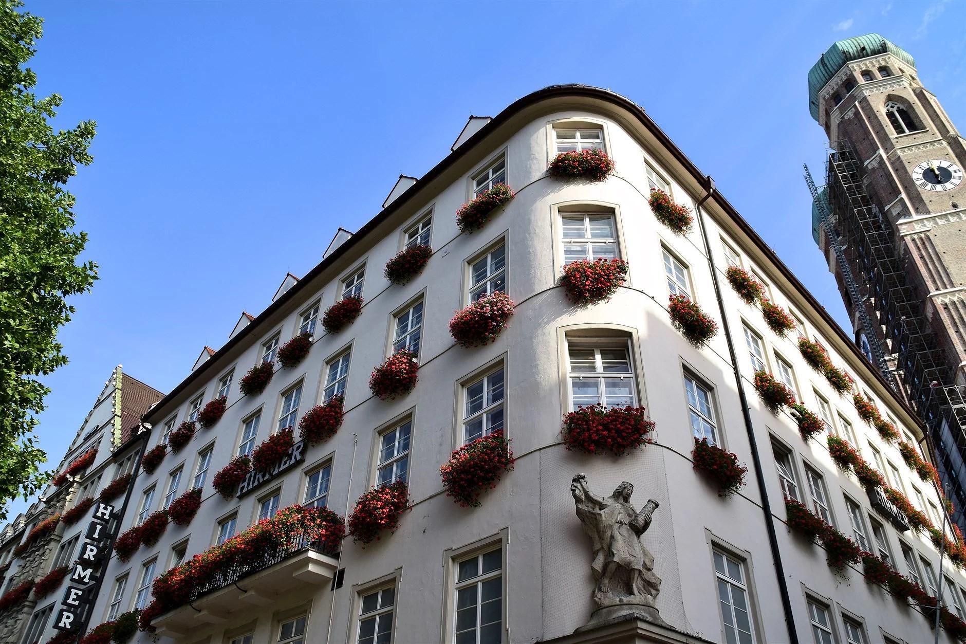 Vi började helgen i München