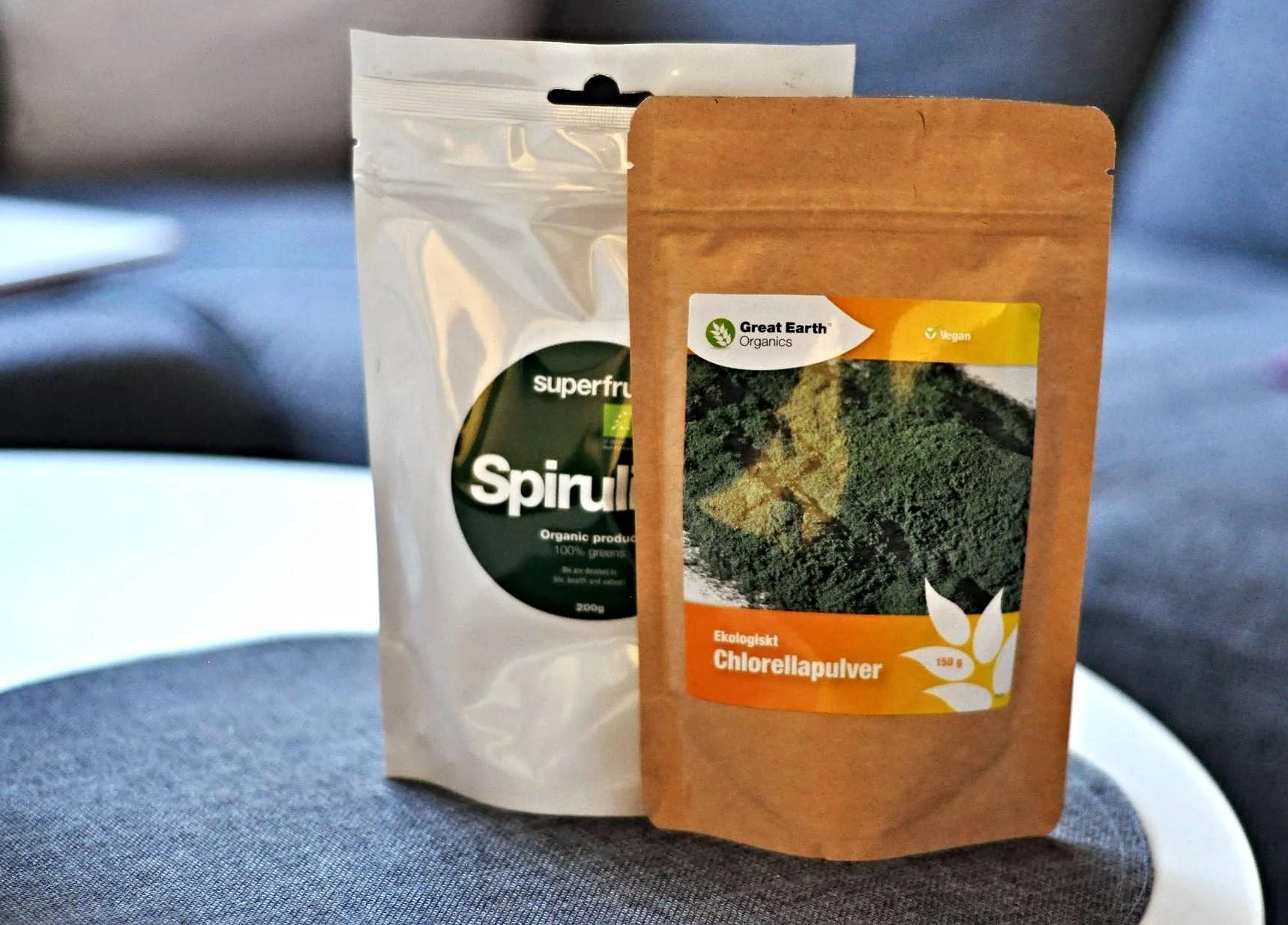 Skillnaden mellan Spirulina och Chlorella