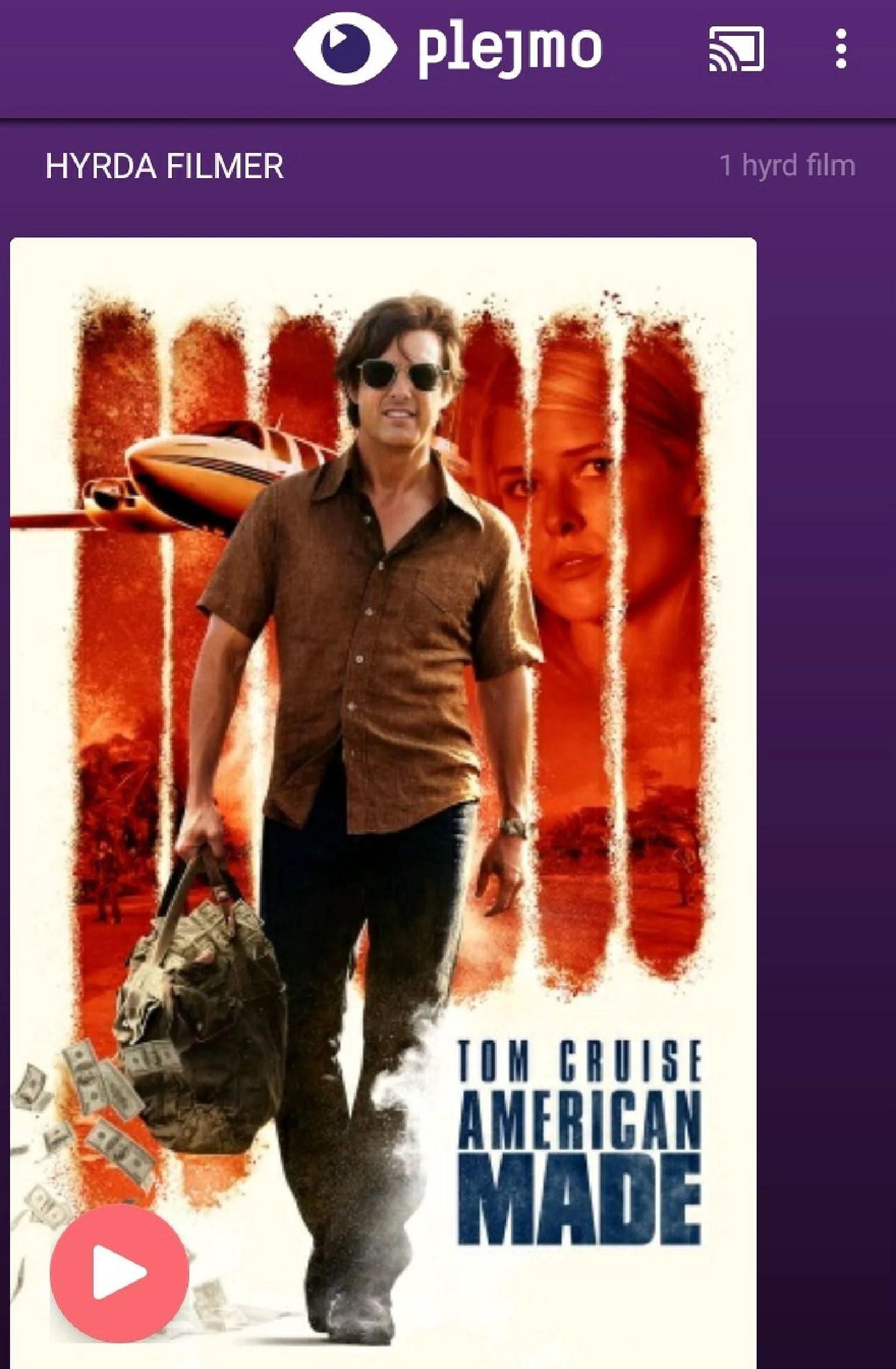 Såg filmen