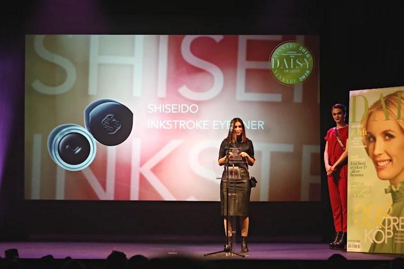 daisy beauty awards shiseido