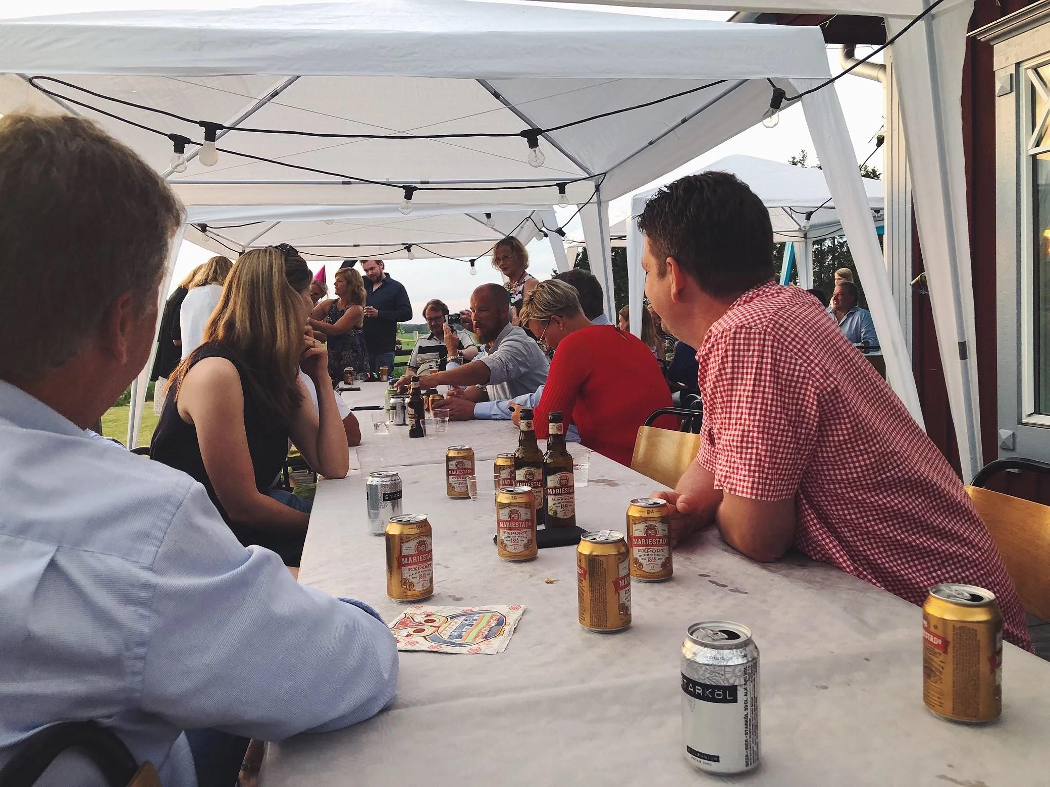 Fest ute på landet