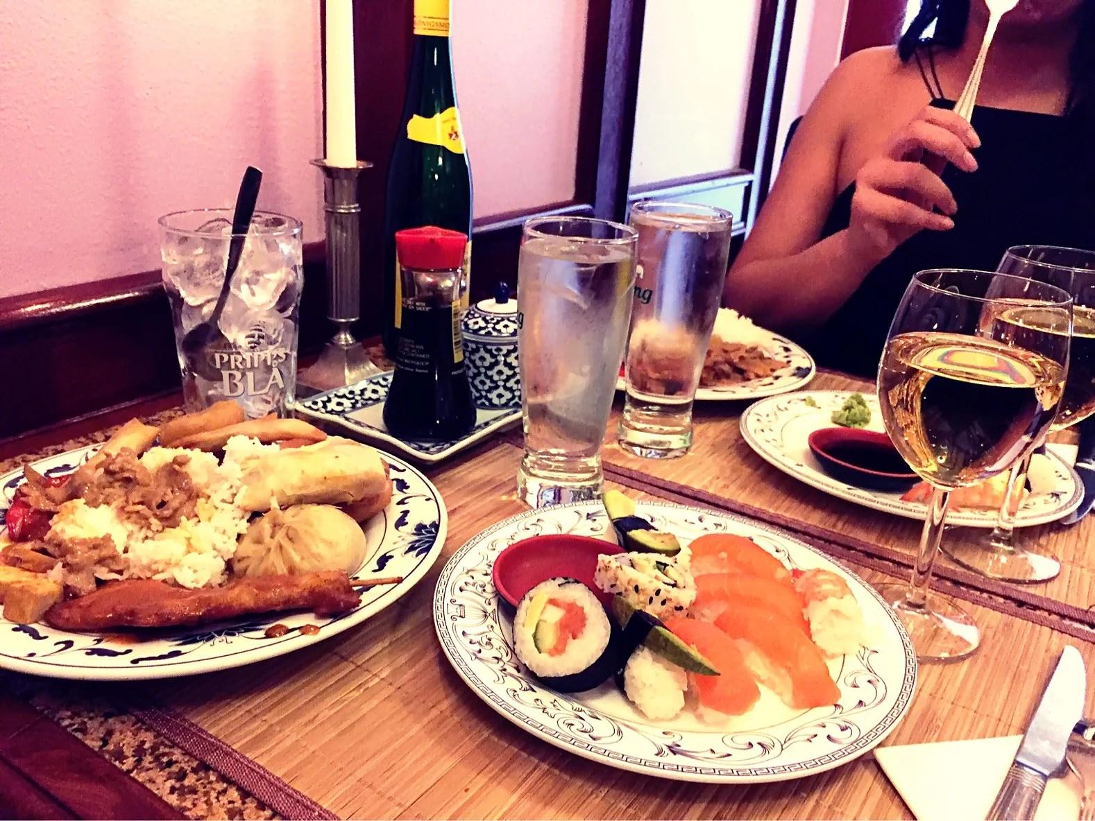 Middag med älskling <3